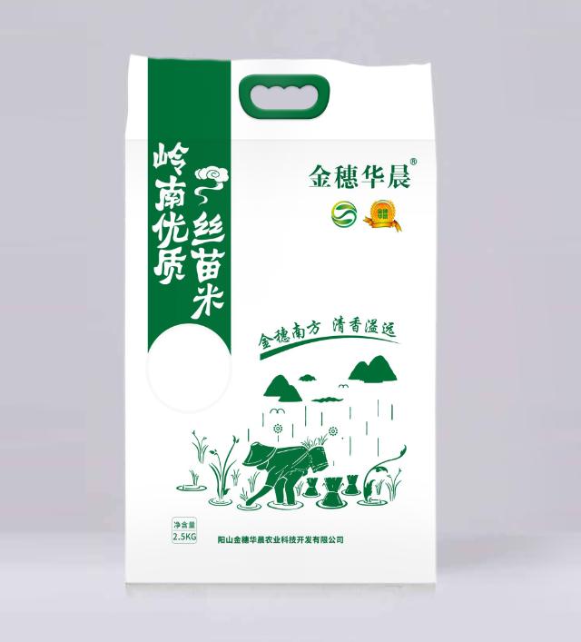 """""""金穗华晨""""5斤装优质丝苗米"""