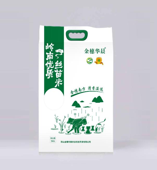 """""""金穗华晨""""10斤装优质丝苗米"""